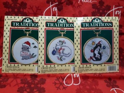 Cat Ornaments 1-2