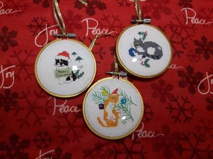 Cat Ornaments 2-2