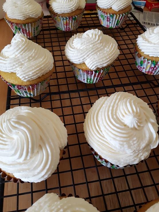 Lemon Cupcakes 1